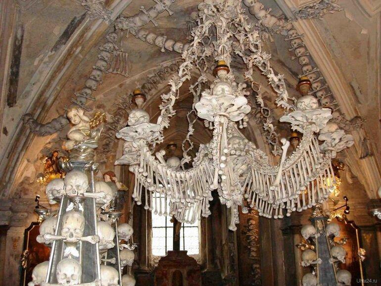 Костехранилище в Седлеце (Чехия)