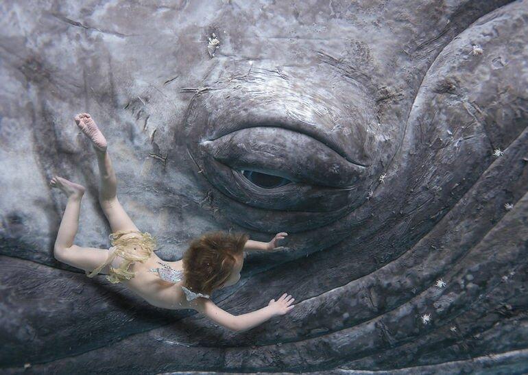 Zena Holloway, подводные фантазии