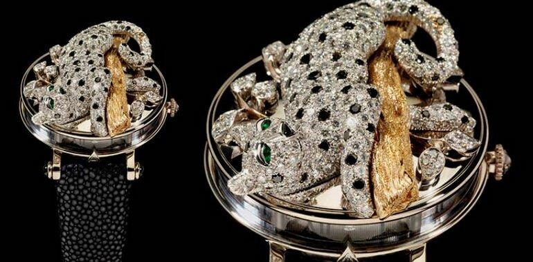 Ювелирные часы от Андреаса вон Задора Герлоф