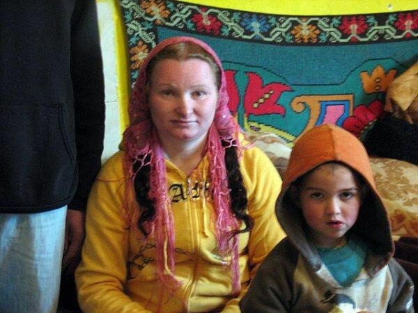 Рифка Станеску, бабушка в 23 года (Румыния)