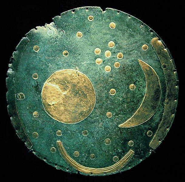 Небесный диск из Небры – календарь или картинка?