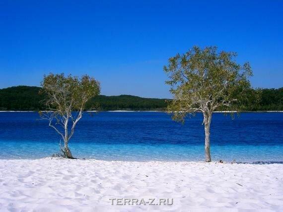 Маккензи: самое чистое озеро на Земле (Австралия)