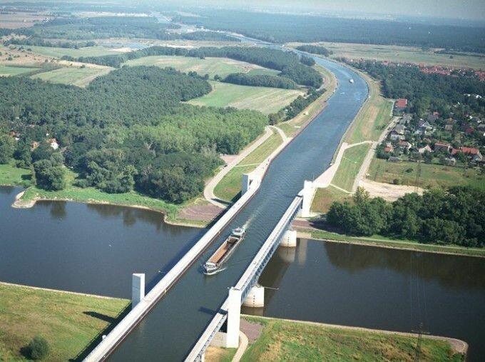 Магдебургский водный мост (Германия)