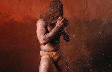 """Кушти - традиционная """"борьба в грязи"""" (Индия)"""