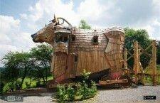 """Необычные отели: детская сказка """"La Balade des Gnomes"""""""