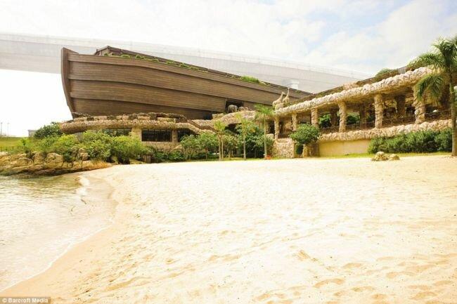 Комплекс Ноев ковчег: модель, ресторан, отель (Гонконг)