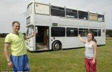Коттедж из автобуса своими руками (Англия)