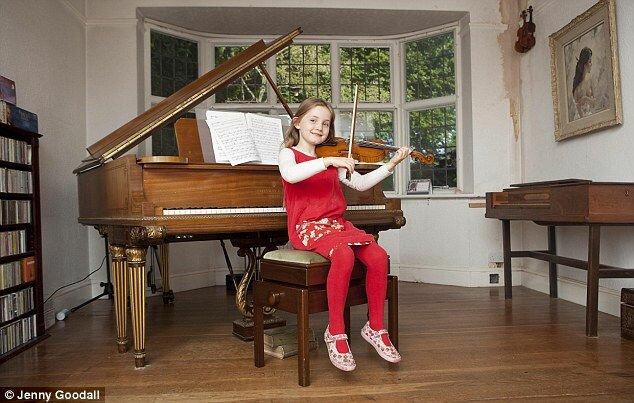 Алма Дотчер: 7 летняя Моцарт (Англия)