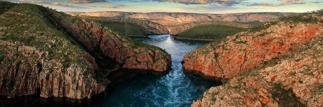 Горизонтальный водопад (Австралия)