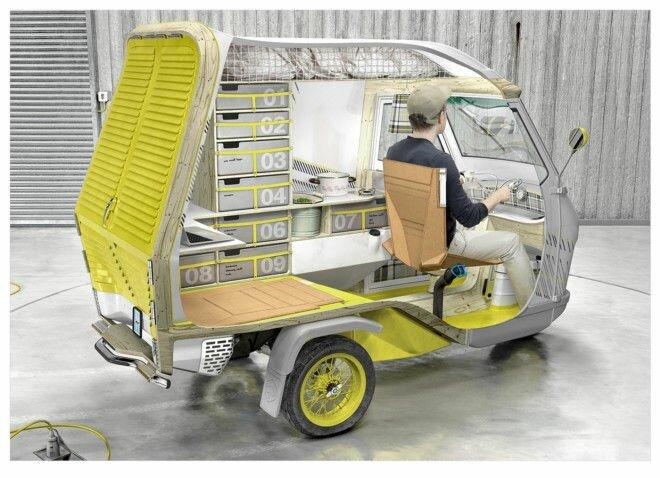 Buffalino: идеальный фургон для одинокого путешественника