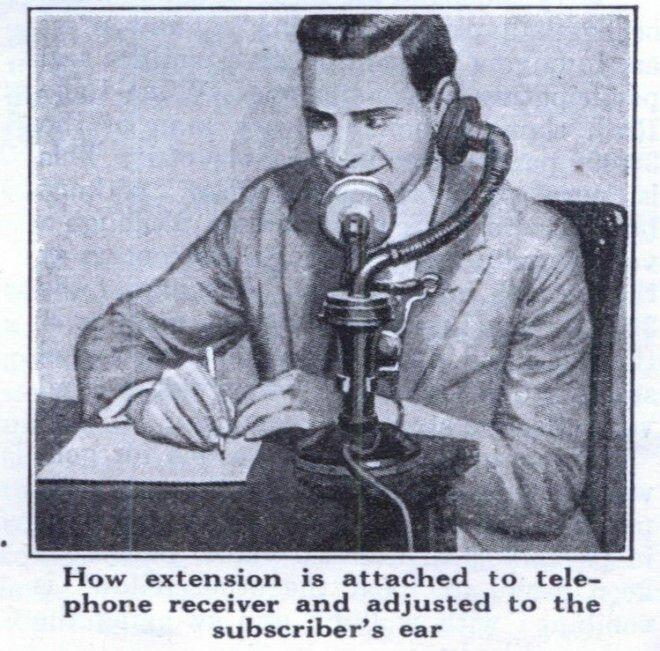 Необычные изобретения для телефонов (1920 30 гг.)