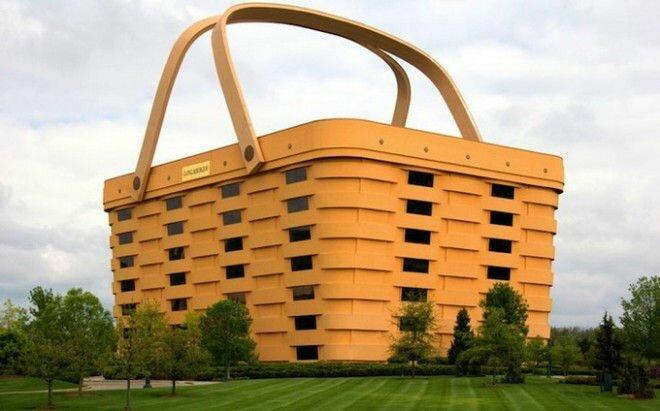Офис Longaberger в форме корзины (США)