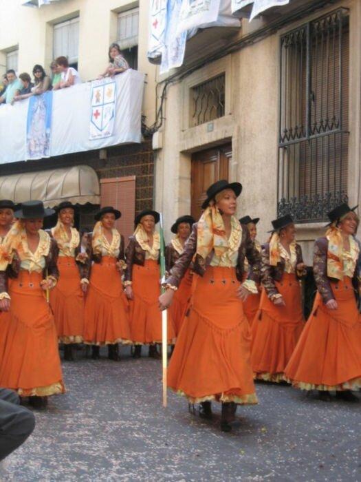 Праздник Мавров и Христиан в Алькое (Испания)