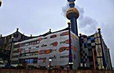 Мусоросжигательный завод как достопримечательность Вены (Австрия)