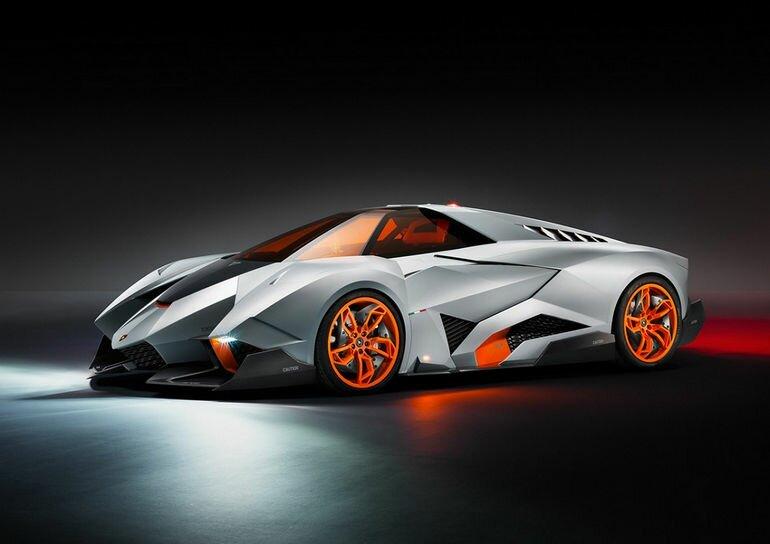 Lamborghini Egoista: одноместная роскошь