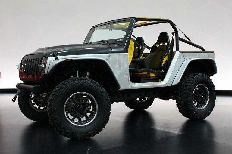 Новые концепт кары от компании Jeep