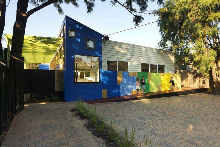 Суперсовременный детский сад в Мельбурне (Австралия)
