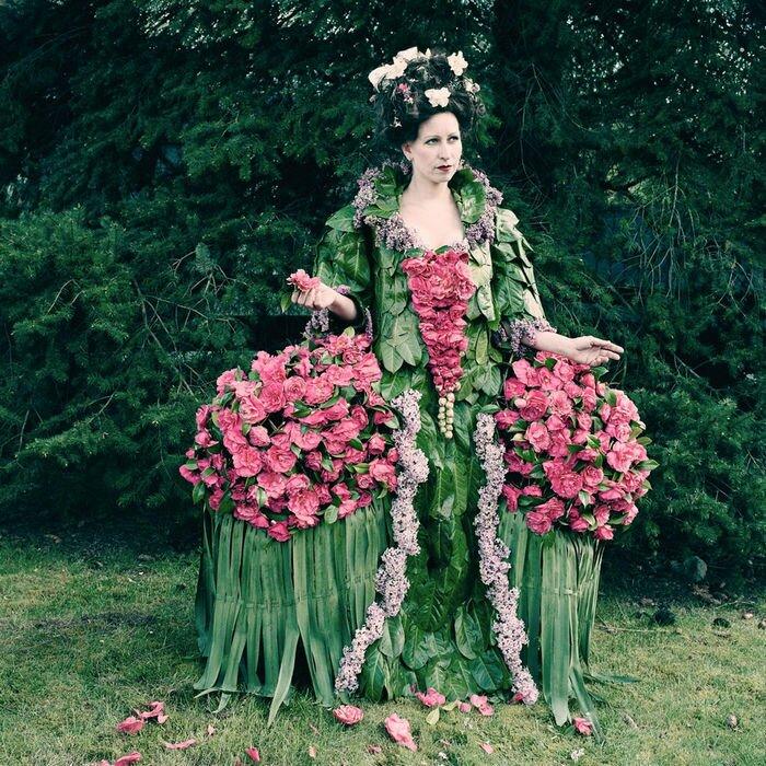 Эко коллекция Weedrobes: красота одного дня