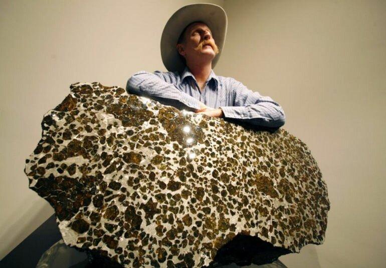 Драгоценный подарок небес весом в 1 тонну: метеорит Фукан
