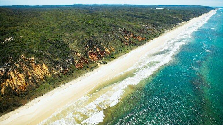 Остров Фрейзер: самый крупный песчаный остров в мире (Австралия)
