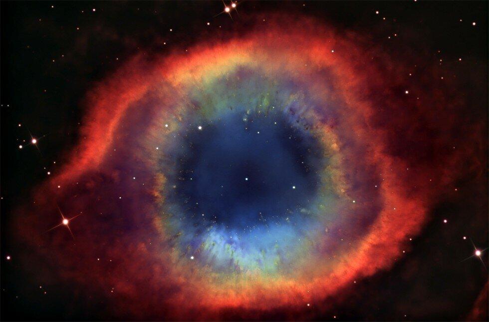 Туманность Улитка: обычное физическое явление или все же загадка космоса