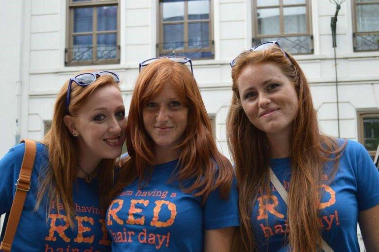 День Рыжих: праздник лучезарных людей (Голландия)