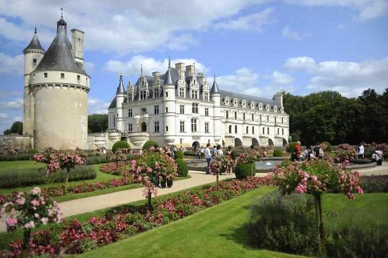 Замок шенонсо дамский замок франция