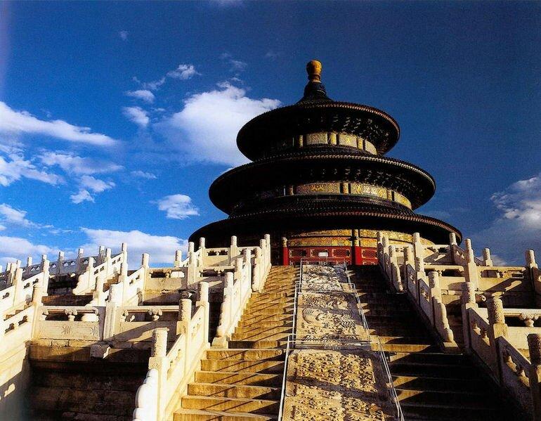Храм Неба в Пекине (Китай)