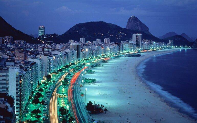 Пляж Копакабана: одно из лучших мест для отдыха на планете (Бразилия)