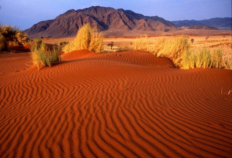 Намиб: безжизненная пустыня (Ангола)