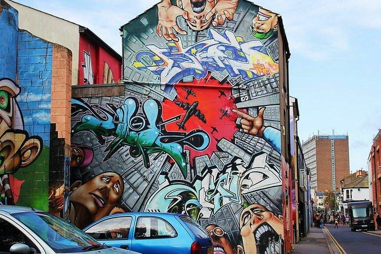 Graffiti Fine Art Biennial: бразильский фестиваль стрит арта