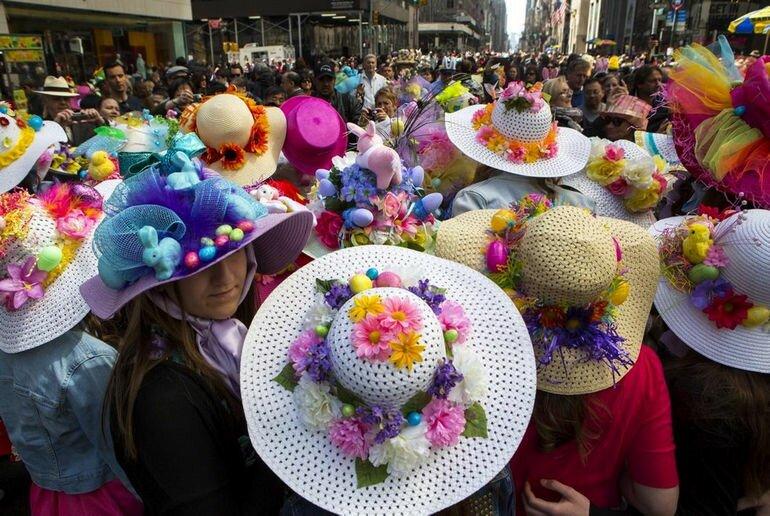 Парад шляп 2014 года в Нью Йорке: необычный полет фантазии (США)