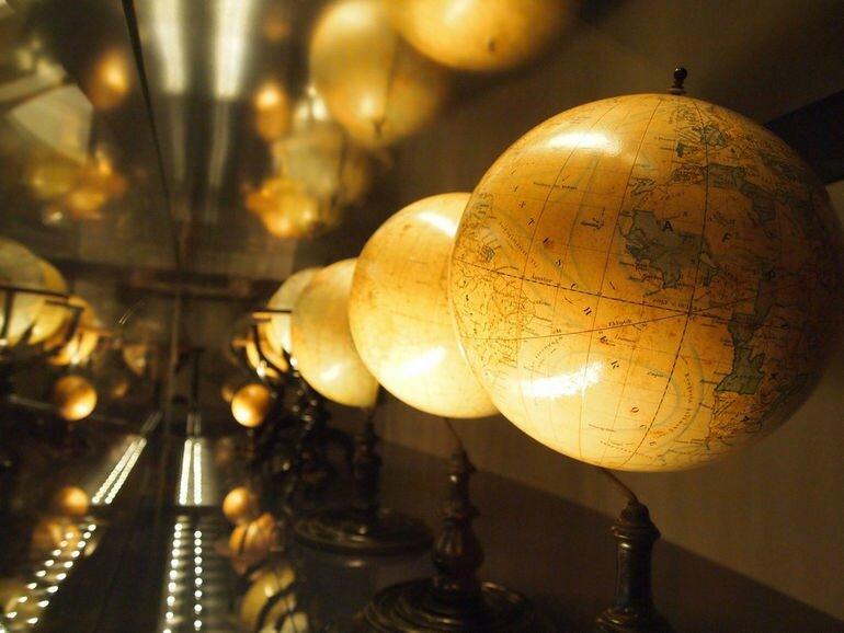 Музей глобусов: эволюция представлений об окружающем мире (Австрия)