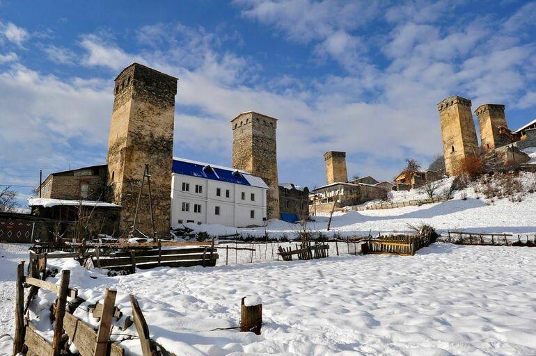 Башни Сванети: дом и охрана древнего грузинского народа (Грузия)