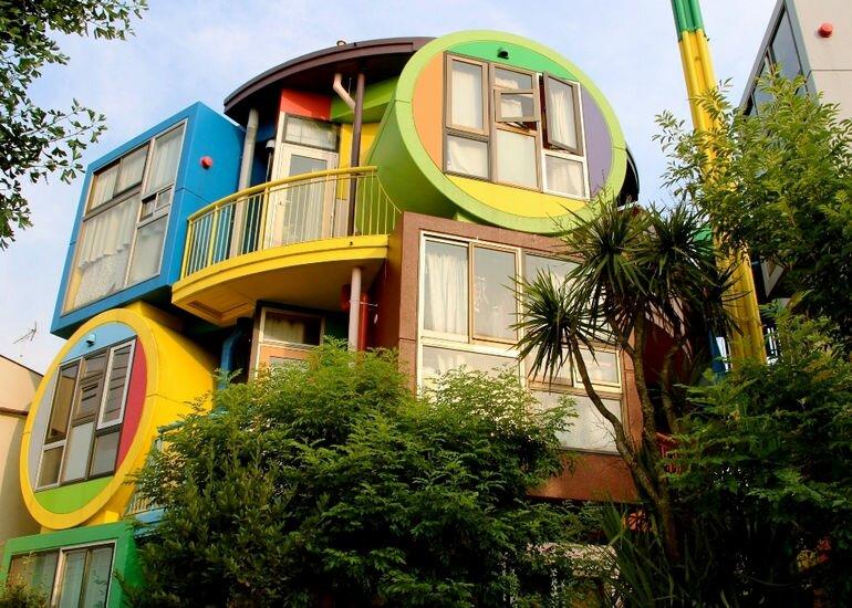 Дом, продлевающий жизнь: «Чердаки обратимой судьбы» в Токио (Япония)