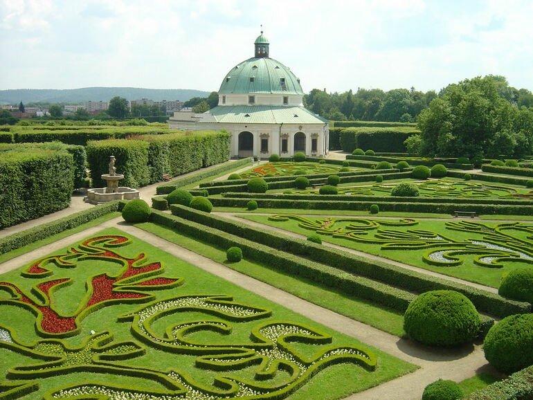 Замок Кромержиж: летняя резиденция епископов (Чехия)