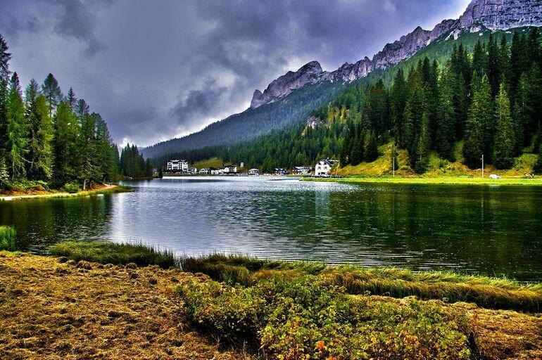 Озеро Мизурина: жемчужина Доломитовых Альп (Италия)