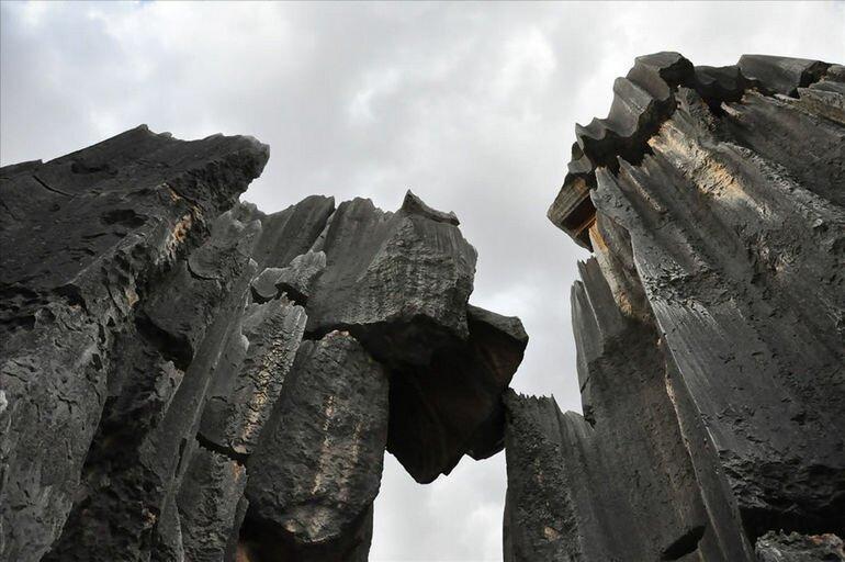 «Каменный лес» в провинции Юньнань (Китай)