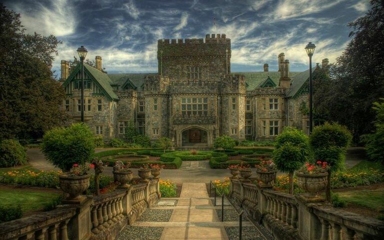 Замок Хэтли и его сады (Канада)
