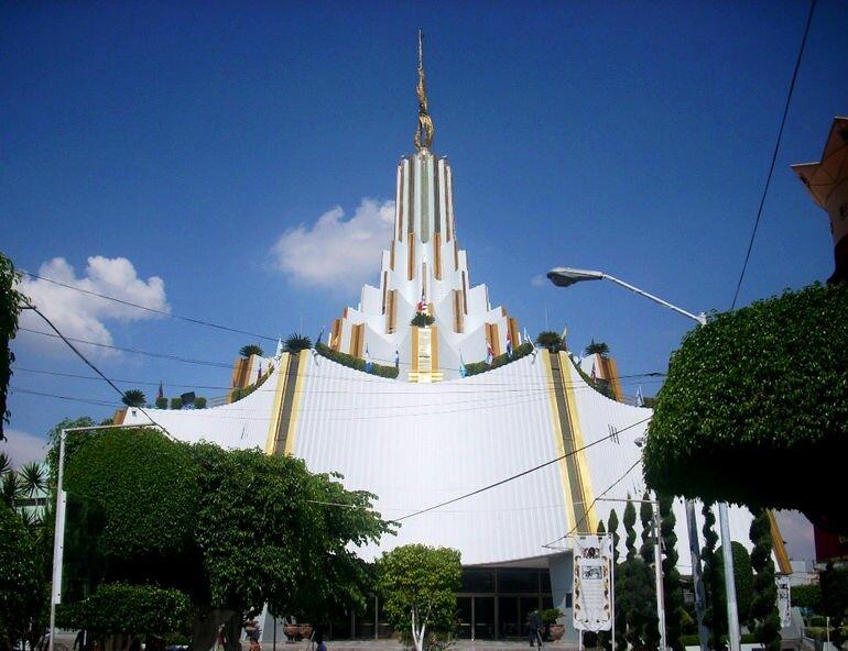 Храм Света мира: многоуровневая церковь в Гвадалахаре (Мексика)