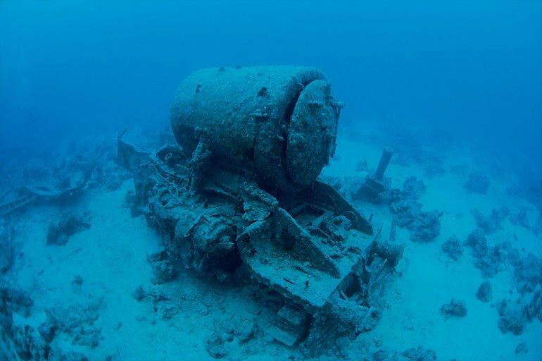 Тистлегорм: затонувший корабль, ставший историей (Египет)