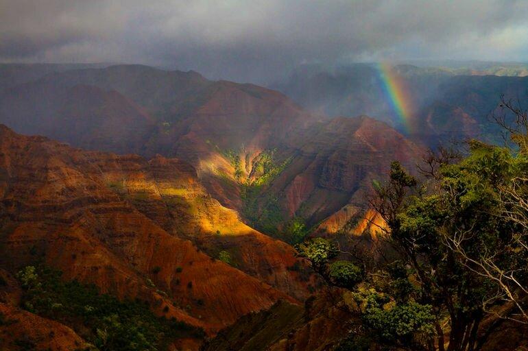 Каньон Ваймеа: прекрасное место для отдыха, подаренное природой (США)