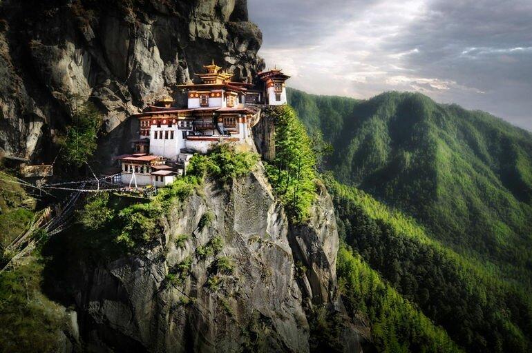 Такцанг лакханг: скальный монастырь в Бутане