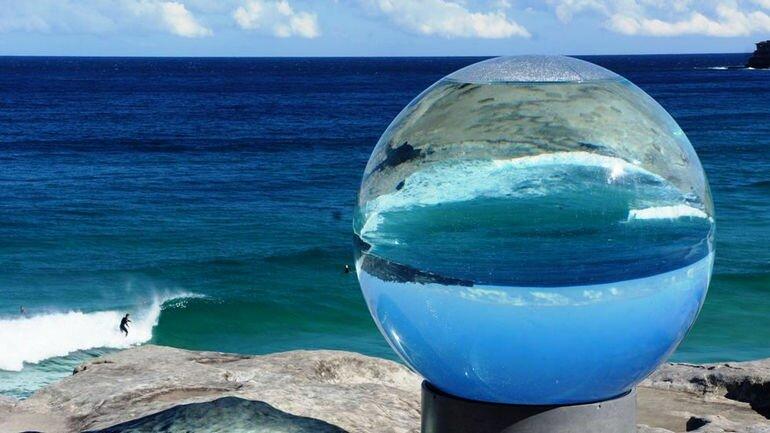 «Скульптуры у моря»: оригинальная выставка на пляже (Австралия)