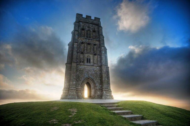 Гластонбери Тор: обитель древних легенд (Великобритания)