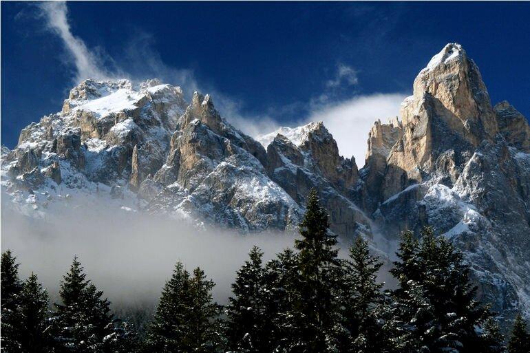 Волшебная красота Доломитовых Альп (Италия)