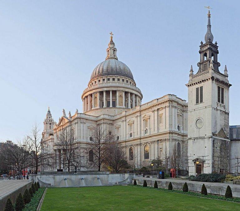 Собор Святого Павла в Лондоне (Великобритания)