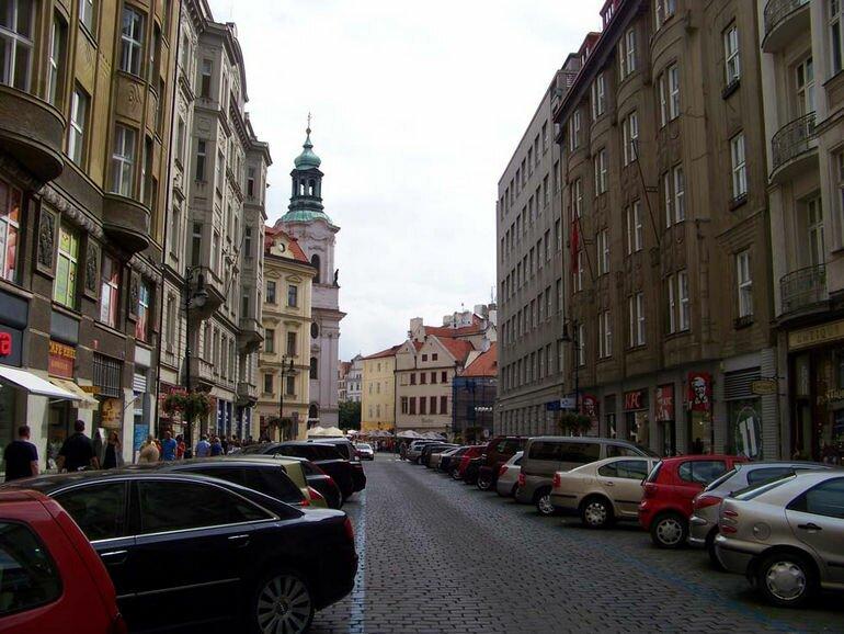 Квартал Йозефов в Праге (Чехия)