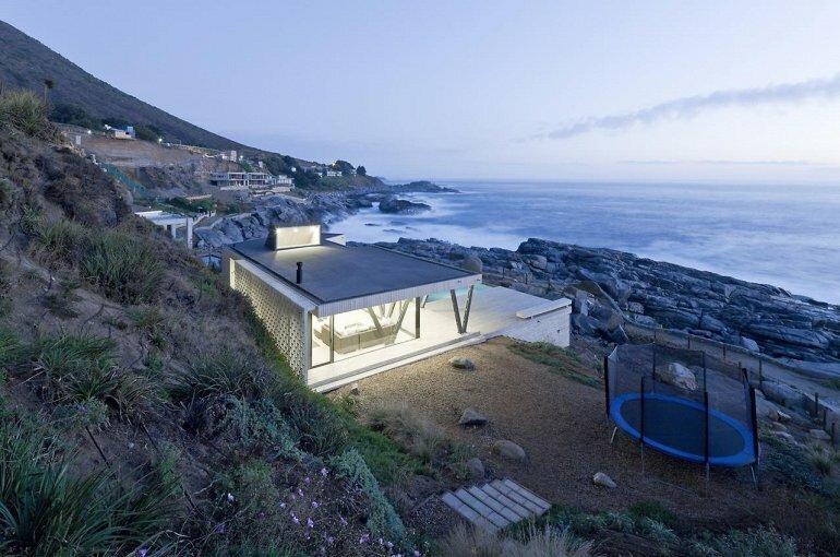 Casa Rambla: дом у моря (Чили)